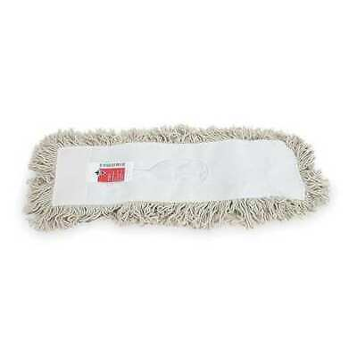 Tough Guy 1tze4 Cotton Dust Mop White Length 24 In