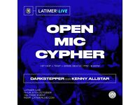 SRS OPEN MIC CYPHER AT LATIMER LIVE