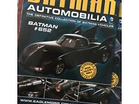 Batman Automobilia- Eaglemoss issue 1-21 and special issue
