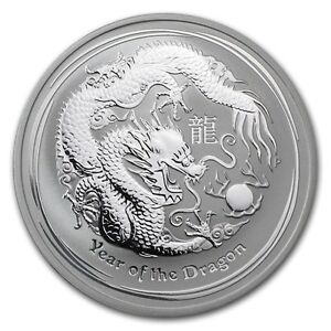 2011 Dragon 1oz Perth Mint Coin