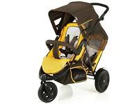 Double push chair for sale - Hauck