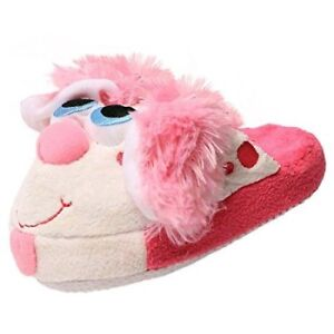 Slippers Stompeez Perky Pink Puppy Kids Small Great Condition