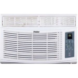 Cools a 399 sq ft room quickly - Haier 8,000-BTU Air Conditioner