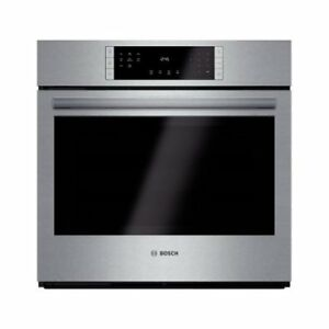 "BOSCH 800 SERIES 30"" STAINLESS STEEL ELECTRIC BUILT OVEN"