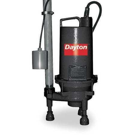 DAYTON 3BB97 Pump,Grinder,2 HP