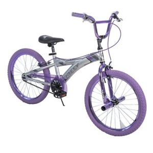 Silver and Purple 20'' Huffy bike, BARELY RIDDEN !!!