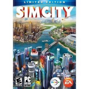 Sim City-Limited Edition PC Game-Excellent condition
