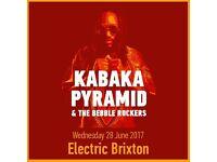 Kabaka Pyramid Performing Live at Electric Brixton