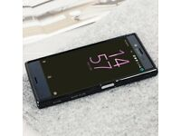 SONY XPERIA X 32GB BLACK UNLOCK TO ANY NETWORK FULL BOX AND BACK CASE AS ON PHOTO