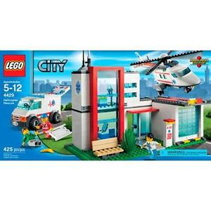 LEGO Hospital aka Helicopter Rescue - RETIRED and FACTORY SEALED