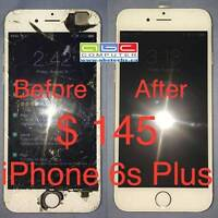iPhone screen replacement from $55