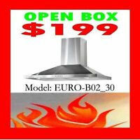 RangeHood Warehouse Big Clearance…Open Box from $199 plus !!!