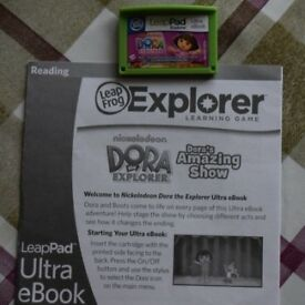 Leapfrog Learning Library game- Dora the Explorer