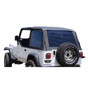 87 95 jeep wrangler yj rampage frameless soft top part 109435. Black Bedroom Furniture Sets. Home Design Ideas