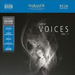 Great Voices 1 Various Great Voices 1 Various vinyl LP NEW sealed