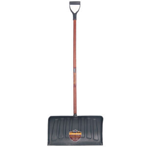 """Poly pusher snow shovels for sale.  21"""""""