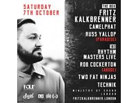 Fritz Kalkbrenner Plus Very Special Guests
