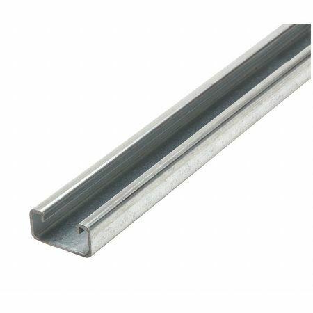 """ZORO SELECT FS-500 PG 60.00 Strut Channel,1-5/8"""" W,5 ft. L,Silver"""