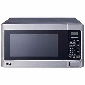 Four à micro-ondes 1000w 1.1 pi.cu. LG LMC1050ST - Micro-wave oven 1000w 1.1 cu.ft. LMC1050ST LG - BESTCOST.CA