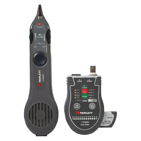 """BYTE BROTHERS Pocket CATP Network Cable Tester,9""""H x 7""""W x 1-3/4""""D"""