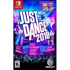 Just Dance 2018 - Switch - Brand New - Unopened.