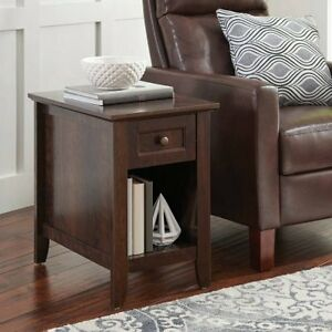 Better Homes And Gardens Parker Recliner Side Table, Esta W