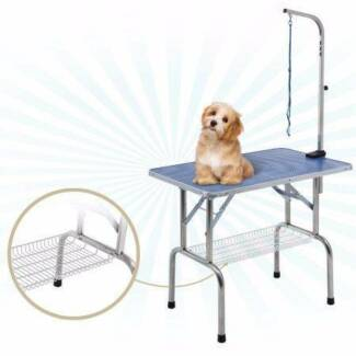 grooming table with adjustable arm for cats dogs and pets