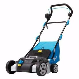 scarifier and lawn rake electric
