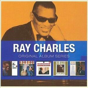 RAY CHARLES - ORIGINAL ALBUM SERIES (5 CDs)  -  NEW