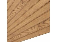 9 x oak plank effect laminate flooring 2.5 m2 pack 10 pieces per pack