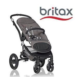 USED* BRITAX AFFINITY BASE STROLLER BASE BABY STROLLER - BLACK 110846578