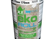 Knauf Eko Roll Loft Insulation (made from recycled glass bottles)