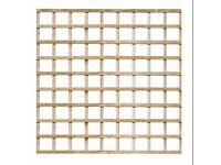 2 x (H)1.83m x (W)1.83m Trellis Panels. Near New