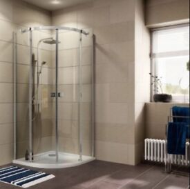 Cooke & Lewis Luxurious Quadrant Shower Enclosure 900mm x 900mm