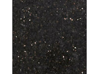 BLACK GALAXY GRANITE TILES 305X305X10