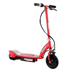 Razor E100 electric scooter with charger cord. Good Condition