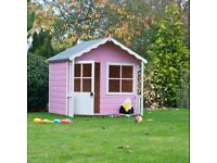 B&Q Kitty playhouse, used, dismantled, requires new plastic windows