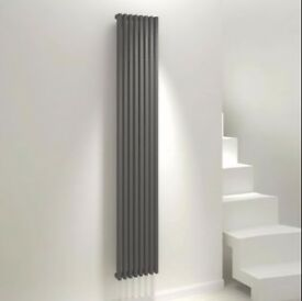 KUDOX XYLO VERTICAL RADIATOR ANTHRACITE (H)1800 MM (W)300 MM (BRAND NEW) RRP £299!
