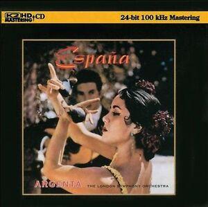 ESPANA-ATAULFO-ARGENTA-LONDON-SYMPHONY-ORCHESTRA-K2HD-CD-ADIOPHILE