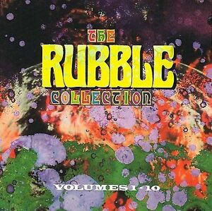 Various-Artists-The-Rubble-Collection-Vol-1-10-CD-UK-Import-NEW