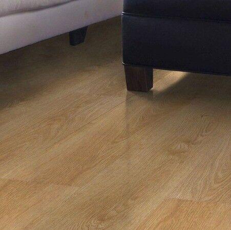 Opened Pack Of Bq Overture Milano Oak Effect Laminate Flooring In