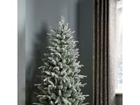 B&Q artificial Christmas Tree 6ft 6in Green. Used once. All parts complete with instructions