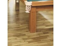 NATURAL OAK REAL WOOD TOP LAYER FLOORING 2.03M² PACK- £25 per pack
