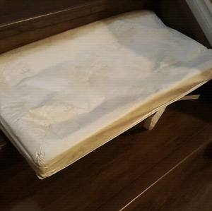 FREE Change table mattress - perfect condition