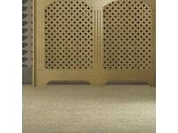 Oak veneer radiator cover - NEW