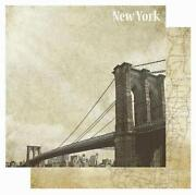 New York Scrapbook Paper