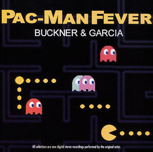 PAC -MAN FEVER Buckner & Garcia CD NEW MINT SEALED OOP VERY RARE!! AWESOME!!