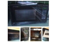 Kenwood K25MB14 Digital Microwave Oven 25L 900w Black immaculate condition
