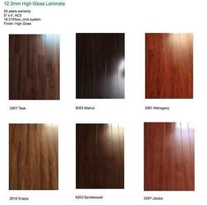 12.3mm High Quality Laminate Flooring starting at $1.52/ft