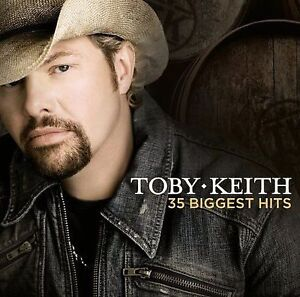 TOBY-KEITH-35-Biggest-Hits-2CD-BRAND-NEW-Best-Of-Greatest-Hits